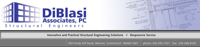 DiBlasi Associates, Structural Engineers.